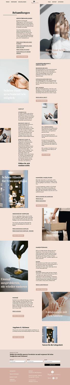 Royer Cosmetics Website Screenshot.